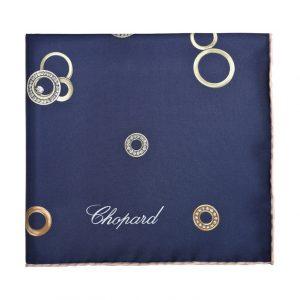 Pañoleta Chopard Happy Dreams Azul Marino