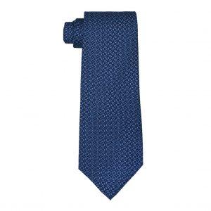 Corbata Chopard Siete Pliegues Azul Marino