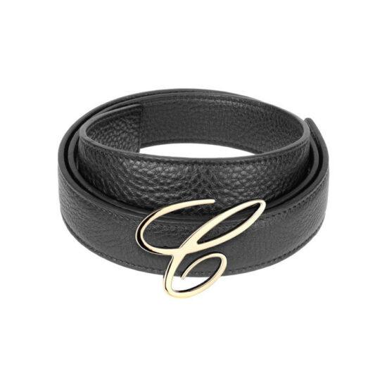 Cinturon Chopard en Cuero - Negro - Mujer