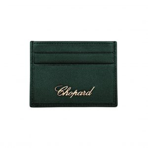 Porta Documentos Chopard Miss Happy en Cuero Verde