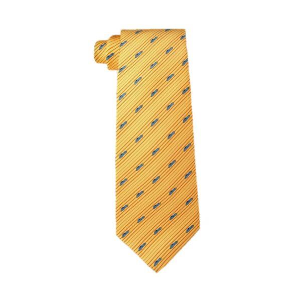 Corbata Chopard Siete Pliegues Gran Turismo - Amarillo