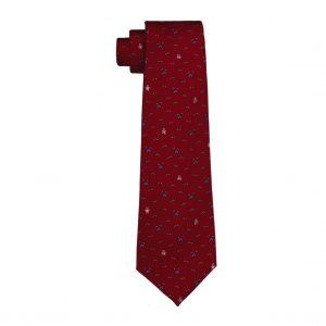 Corbata Chopard Siete Pliegues L.U.C - Rojo