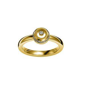 Anillo Chopard Miss Happy oro amarillo y diamantes