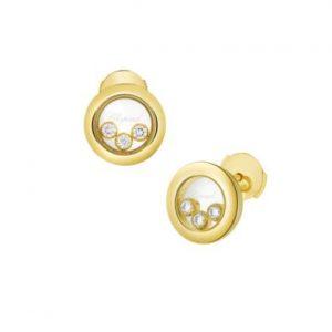 Topos Chopard Happy Diamonds oro amarillo y diamantes
