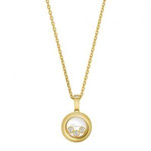 Collar Chopard Happy Diamonds oro amarillo y diamantes