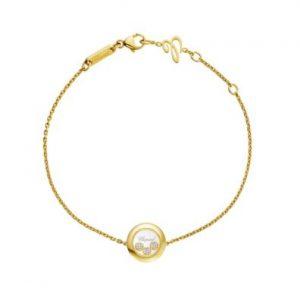Pulsera Chopard Happy Diamonds oro amarillo y diamante