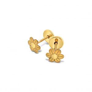 Topos Bebé / Niña Margaritas Oro Amarillo - mariposas atornilladas
