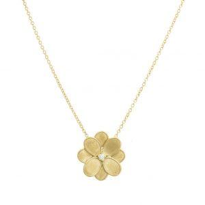 Collar Marco Bicego Lunaria Petali Oro Amarillo y diamante