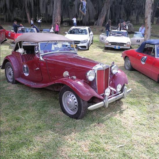 Participantes del Haciendas Classic Chopard Rally