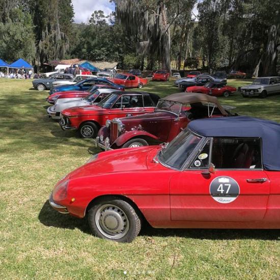 Partida a tramo cronometrado Haciendas Classic Chopard Rally