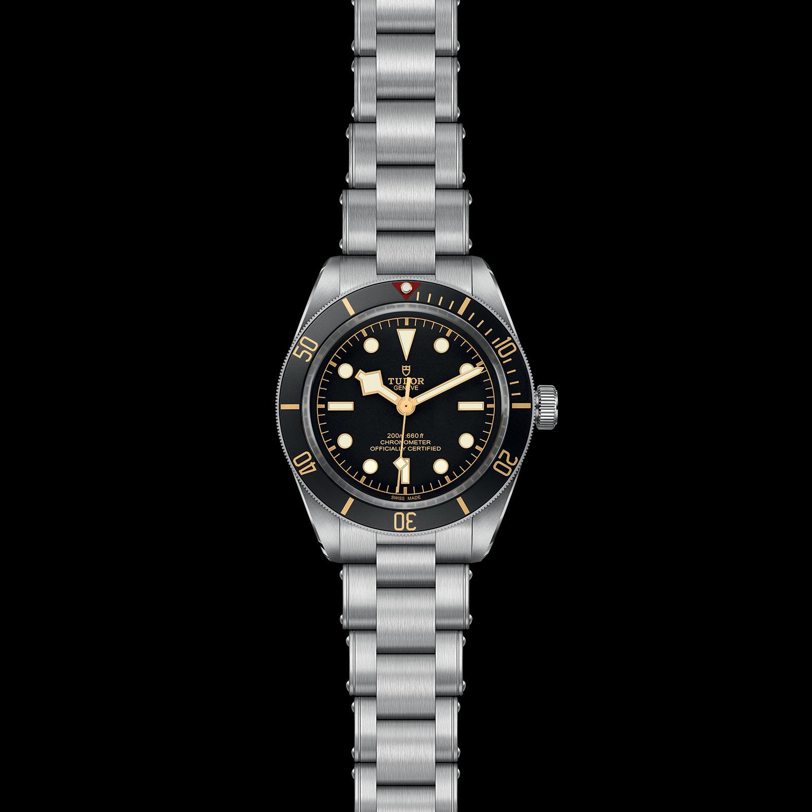 Reloj Tudor Black Bay Fifty-eight Automático en acero con esfera y bisel color negro.