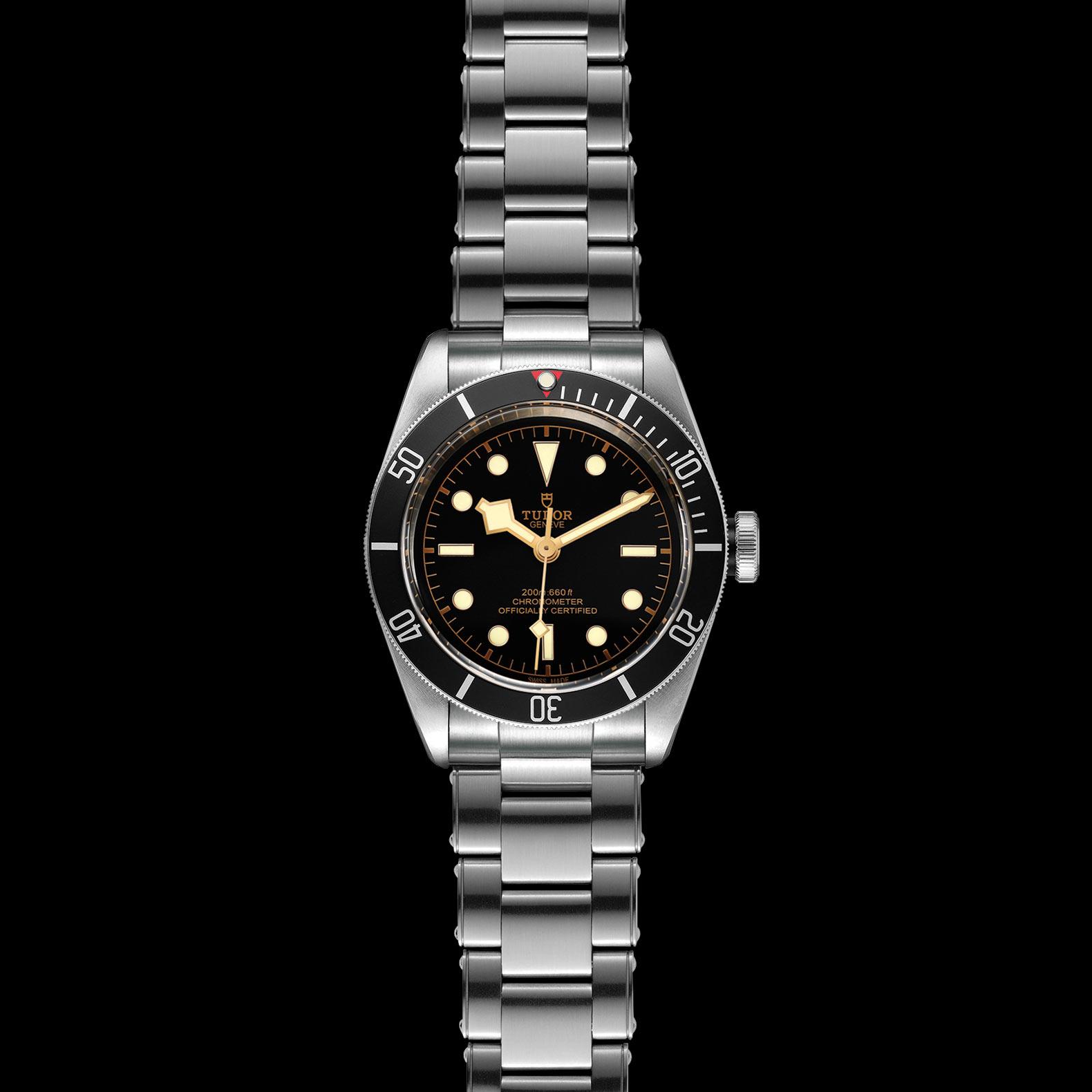 Reloj Tudor Black Bay Automático en acero con esfera color negro y bisel color negro.