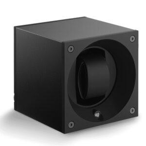 Caja de movimiento para 1 reloj - Masterbox Negra></noscript><img class=