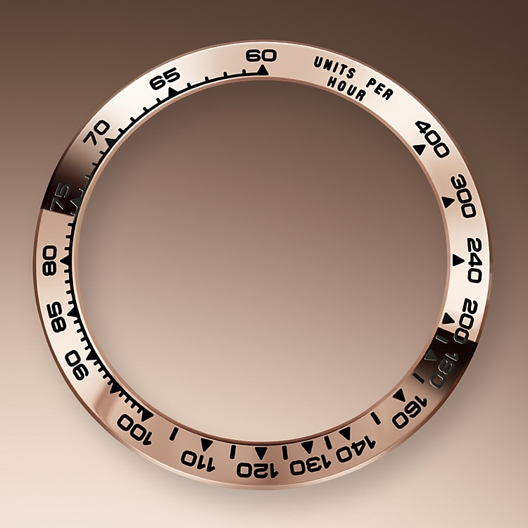 the tachymetric scale everose gold 41335 2